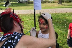 Tree Fest-Face painting by Doodlebug